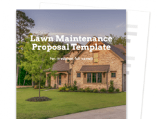 lawn maintenance proposal template  free and fillable grass cutting proposal template