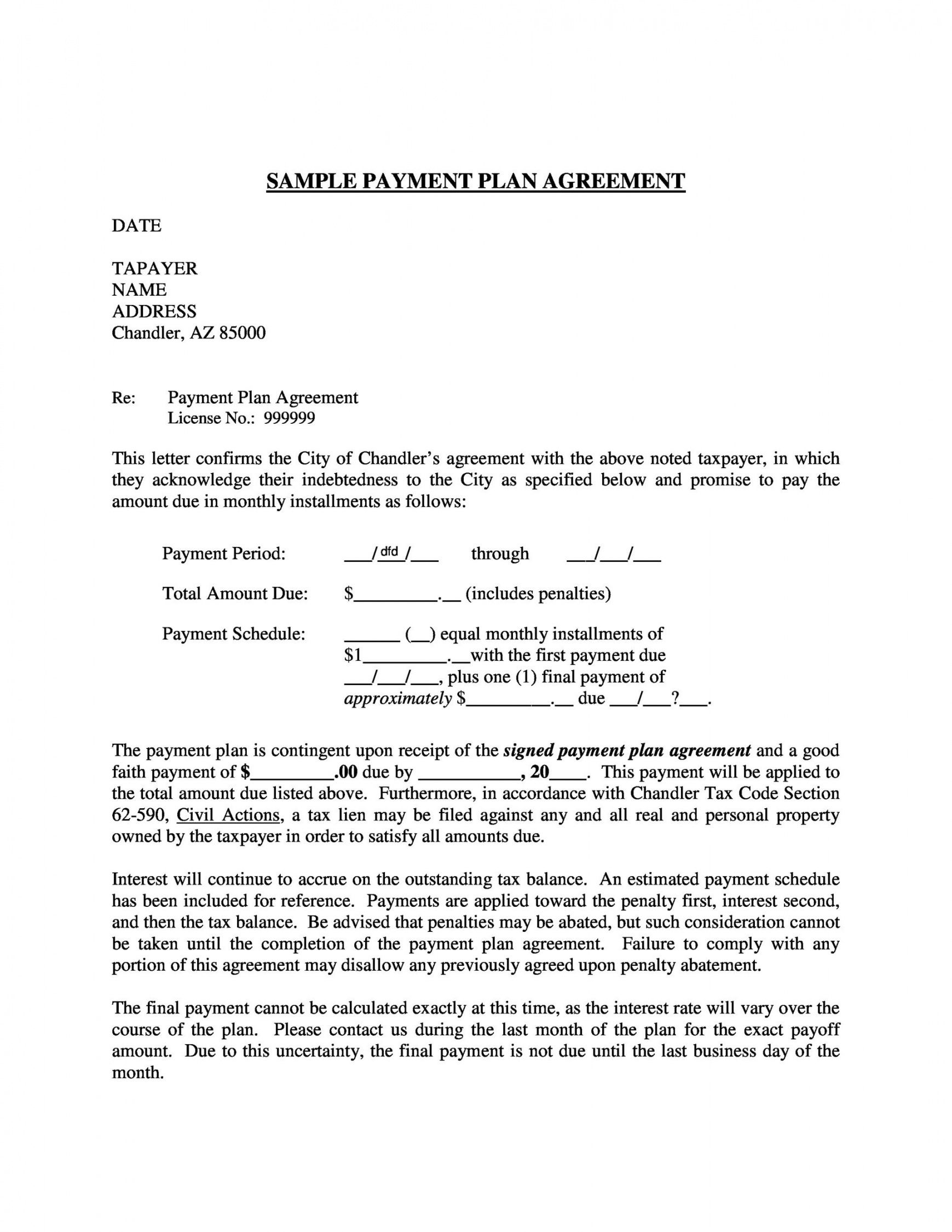 payment agreement  40 templates & contracts  templatelab credit card processing proposal template word