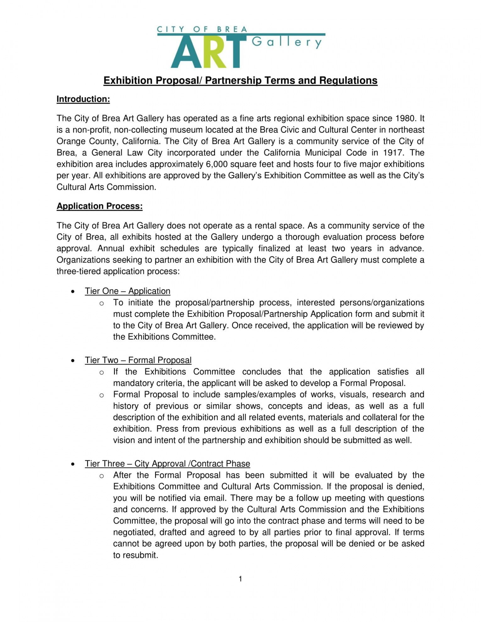 printable 11 exhibition proposal examples  doc pdf  examples trade proposal template