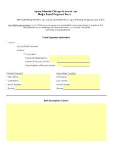 printable 38 best event proposal templates & free examples  templatelab event management proposal template excel