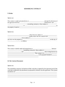 printable bathroom renovation contract  image of bathroom and closet bathroom remodel proposal template example