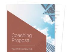 printable coaching proposal template  free sample  proposable executive coaching proposal template pdf