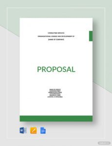 printable consulting proposal template examples to use for your clients financial advisory proposal template word