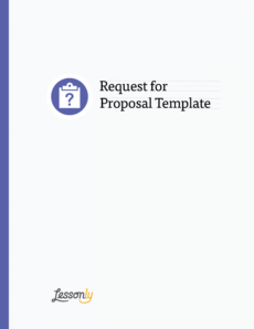 printable free lms request for proposal template  lessonly software training proposal template pdf