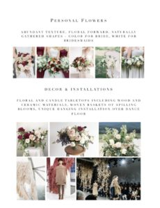 printable how to create beautiful concise client proposals floral design proposal template example