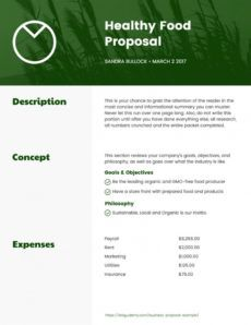 printable how to write a business proposal examples & templates business training proposal template word