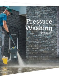 printable pressure washing estimate template  free sample  proposable commercial pressure washing proposal template example