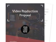 printable video production proposal template free sample  proposable video production proposal template