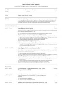 project engineer resume & writing guide  12 resume education project proposal template example