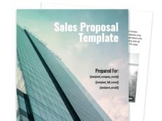 sales proposal template  proposable professional sales proposal template pdf