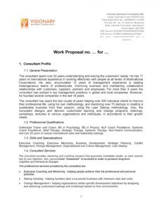 sample 43 best job proposal templates free download  templatelab trade proposal template doc