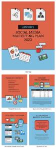 sample creative social media marketing proposal social media management proposal template example
