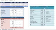 sample free financial planning templates  smartsheet financial planning proposal template word