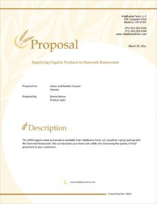 sample organic farming product sales sample proposal  5 steps hotel sales proposal template pdf