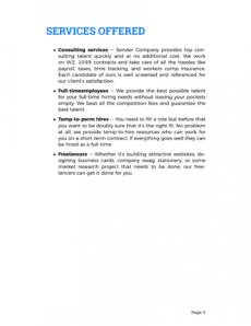 sample proposals  recruitment proposal template staffing agency proposal template