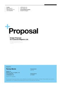 sample suisse design proposal template by egotype  issuu proposal template for web design project doc