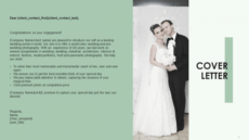 sample wedding photography proposal template to get hired  the wedding photography proposal template word