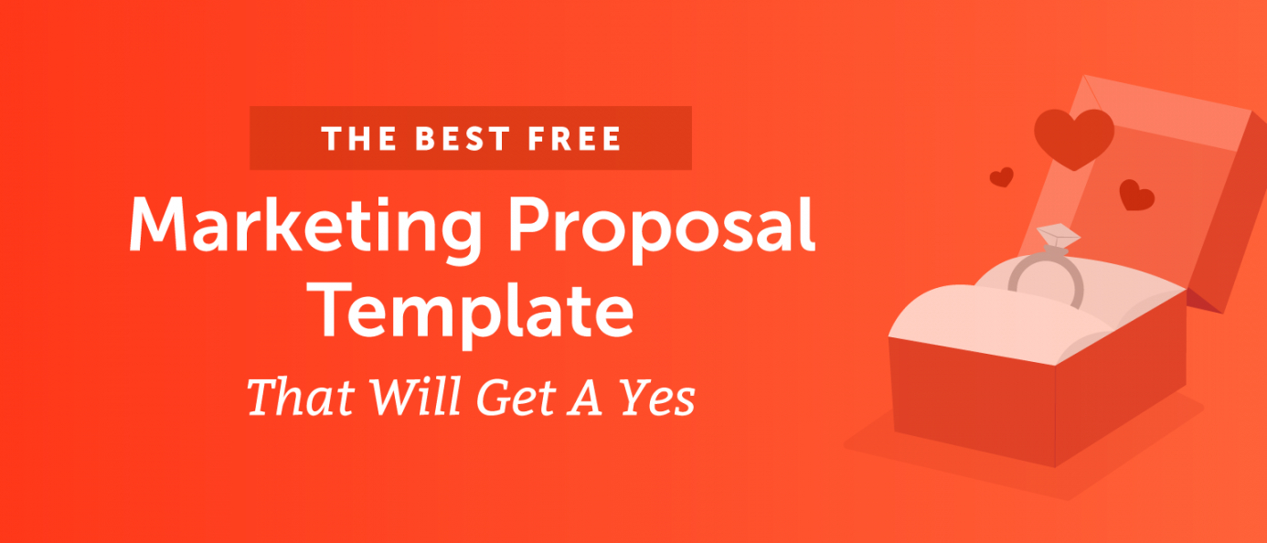 the best marketing proposal template that will get a yes publicity proposal template doc