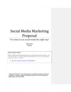 12 marketing campaign proposal examples  pdf word  examples cross promotion proposal template pdf