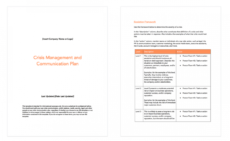 6 crisis communication plan examples & how to write your own crisis management policy template pdf