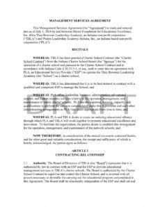 editable 11 management services agreement  pdf doc  examples restaurant management contract template doc