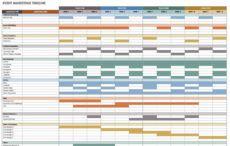 editable 21 free event planning templates  smartsheet event management timeline template pdf