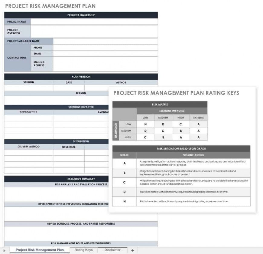 editable free project management plan templates  smartsheet project management evaluation template example