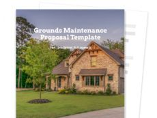 editable grounds maintenance proposal template  free sample grounds maintenance proposal template doc