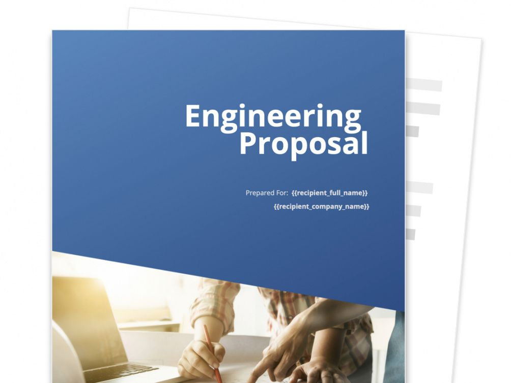 free engineering proposal template  free sample  proposable engineering design proposal template doc