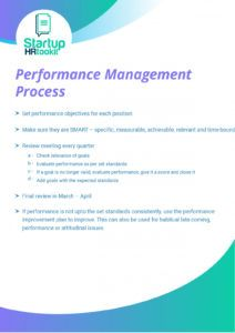 free performance management template download for review performance management document template