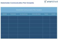 how to create a stakeholder management plan smartsheet project management stakeholders template
