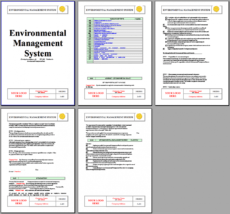 iso 14001 environmental system instant download iso14001 environmental management system template doc