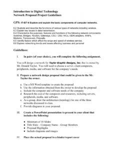networking proposal guidelinesdoc pages 1  2  text network design proposal template pdf