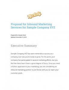printable 12 marketing campaign proposal examples  pdf word  examples cross promotion proposal template pdf