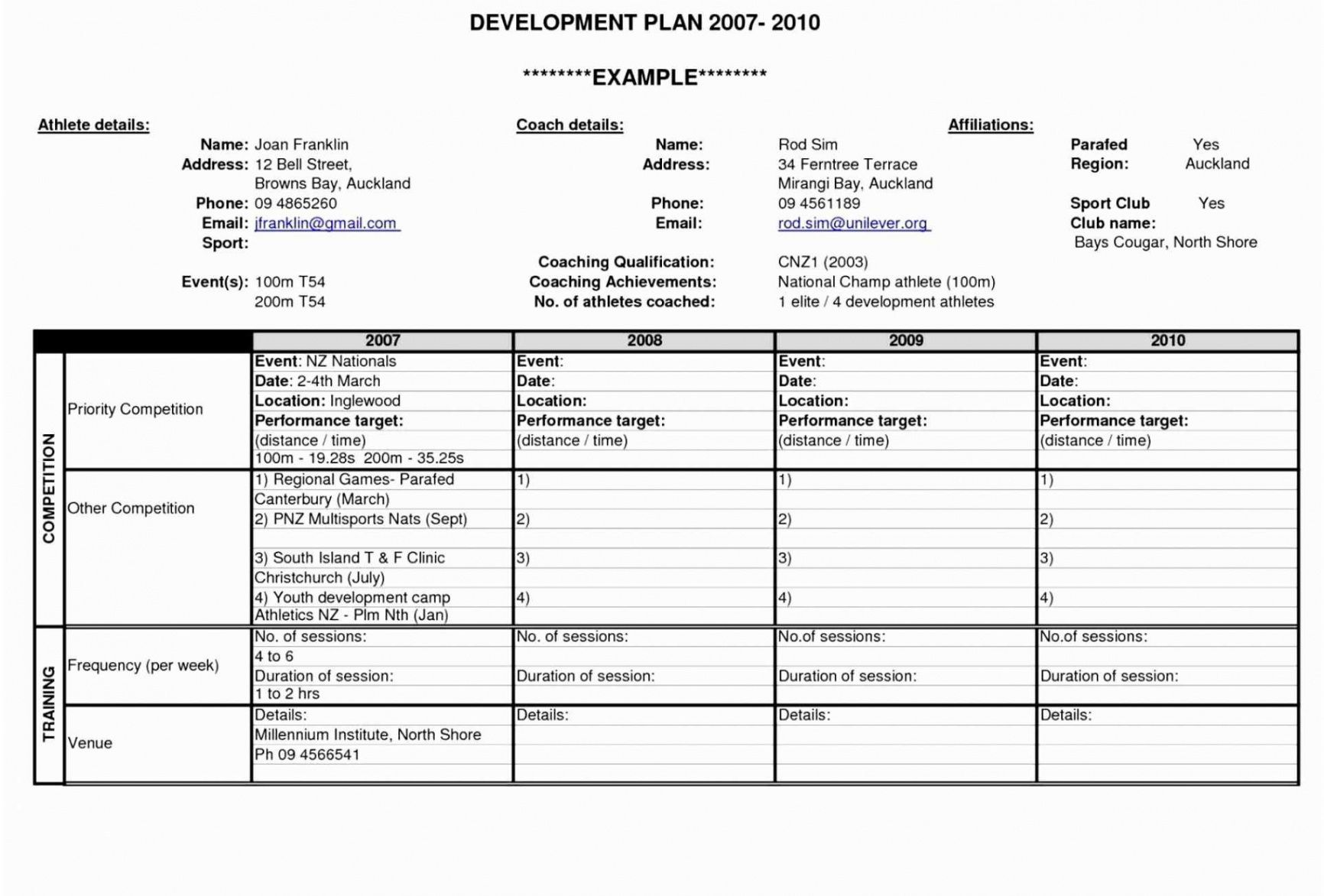 printable business development plan template ~ addictionary business development proposal template