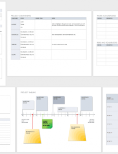 printable free project report templates  smartsheet project management status update template excel