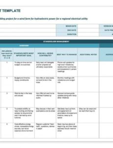 printable how to create a stakeholder management plan smartsheet project management stakeholders template pdf