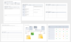 sample free project report templates  smartsheet project management evaluation template pdf