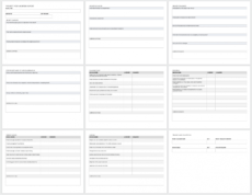 sample free project report templates  smartsheet project management evaluation template word