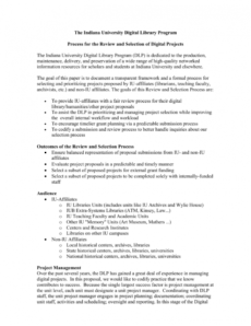 sample project planning process overview library program proposal template pdf