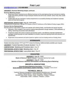 sample sports and coaching resume sample  professional resume sports management resume template pdf
