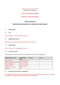 11 student project proposal examples  pdf word  examples educational program proposal template excel