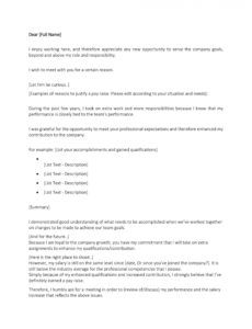 50 best salary increase letters how to ask for a raise? salary increase proposal template