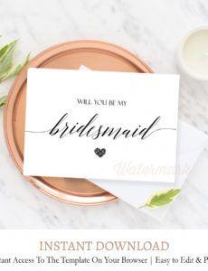 editable bridesmaid proposal card c8 bridesmaid proposal template pdf