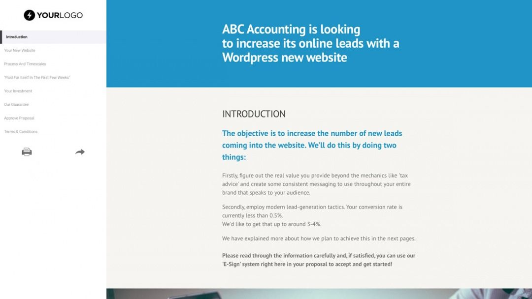 editable template  this free wordpress website design proposal website redesign proposal template
