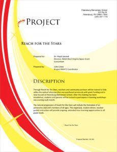 educational grant sample proposal  5 steps nasa proposal template word