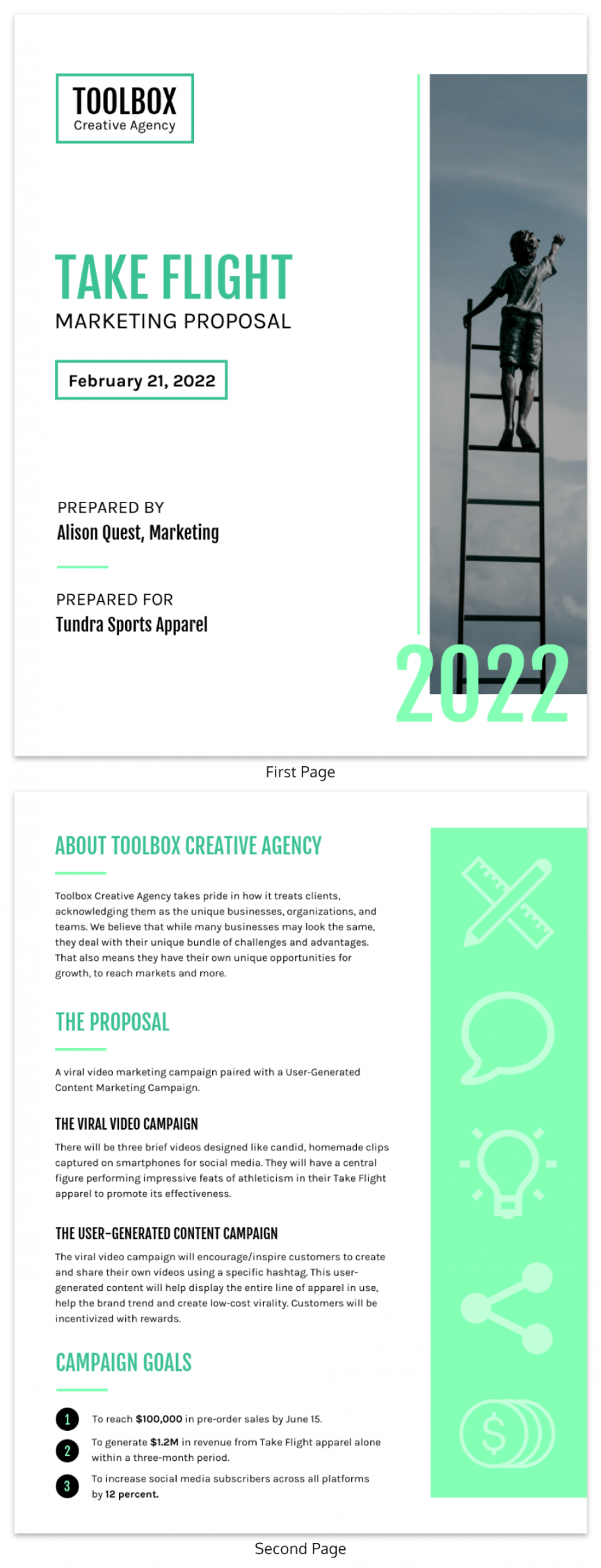 free 31 consulting proposal templates to close deals  venngage consulting project proposal template example