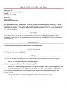 free consulting proposal template doc ~ addictionary consulting project proposal template example