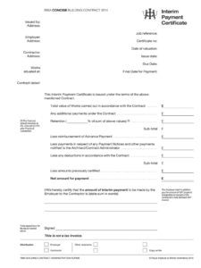 free interim payment  fill online printable fillable blank interim management agreement template pdf