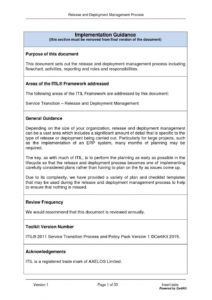free itilst0402 release and deployment management process by release management policy template excel